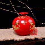 景德鎮陶瓷罐子,定做陶瓷蜂蜜罐,陶瓷藥罐廠家
