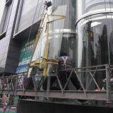 廣州換熱彎夾膠玻璃安裝