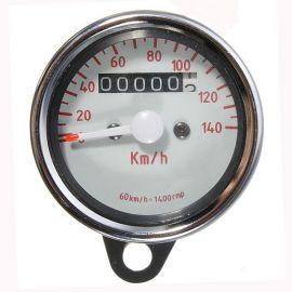 合祥摩托车改装仪表/ 指针式里程表/公里表/车速时速度表/摩托车仪表 厂家直销 量大从优