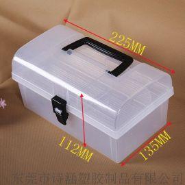 PP塑料收纳盒SH-6401 手提式(外尺寸 225*135*112MM)