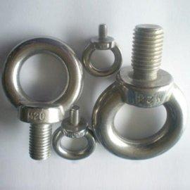 西安不锈钢圆螺母机械配件不锈钢吊环螺母