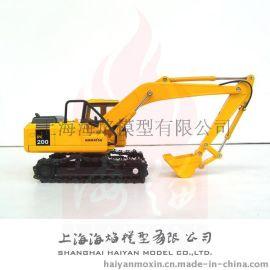 1:40小松PC200挖土机高仿真模型