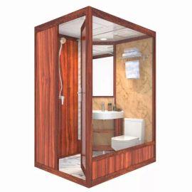 阜新 一体式卫生间效果图 逸巢整体卫浴