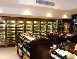 酒庄个性特式不锈钢酒窖定制-不锈钢恒温恒湿酒柜