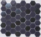 六邊形玻璃馬賽克GY006