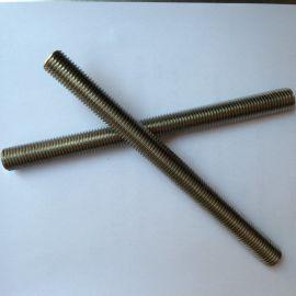 专业生产 F51 F53 F55 双相不锈钢六角螺母全牙牙条