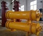 油冷却器,汽轮机润滑油管式冷油器