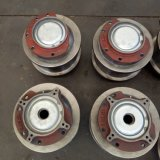 歐式起重機輪組 球墨鑄鐵輪片 球鐵歐式車輪軸承座 160主動車輪組
