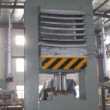 青島國森牌120T多層實木板彎曲熱壓機設備