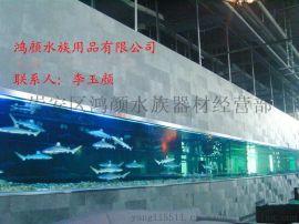 厂家直销无锡大型鱼缸定做无锡鱼缸定做无锡亚克力鱼缸定做