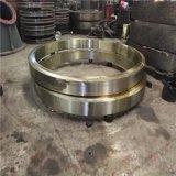 回火热处理35crmo耐磨材料制造滚筒包膜机滚圈配件
