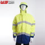 高能见度防风夹克 防水透气高可视夹克