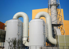 废气处理设备成套设备废气净化塔 喷淋塔厂家定制