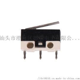 厂家直销 鼠标 按键 微动开关带柄小型
