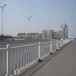 人行道路护栏锌钢道路交通护栏马路隔离防撞栏