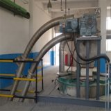 石灰粉管鏈機 爐渣碟片提升機Lj1 碟片管鏈輸送機