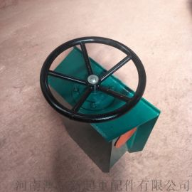 龙门吊防风驻刹装置 轨道固定器 手动方向盘夹轨器