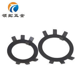 GB858圆螺母止退垫圈碳钢止动垫片Φ10-Φ60