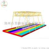 抖音大型网红秋千桥在郑州百美定做