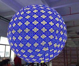 企业展厅创意显示展览馆显示LED异形屏