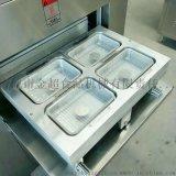 生鮮花蛤海鮮真空氣調蓋碗包裝機 氣動封口包裝機