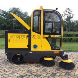 郑州工业工程驾驶式扫地车环卫车电动清扫车