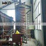 陕西供应洗煤螺旋溜槽 矿石分选设备 玻璃钢溜槽厂家