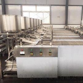 电动磨浆机 干豆腐机设备 六九重工素鸡翅机器视频