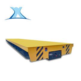 工业电动平板动力轨道平板车 10吨生产运输电动车