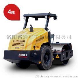 4吨压路机压土机碾压机轮胎驱动单钢轮振动压路机