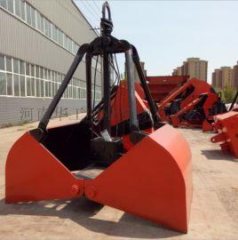 1立方重型XZ10单绳抓斗 港口起重机抓斗