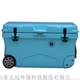 冷鲜食品用塑料保温箱/山东塑料冷藏箱密封性能好
