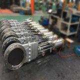 PZ673F不鏽鋼氣動刀型閘閥,重慶氣動閘閥廠家