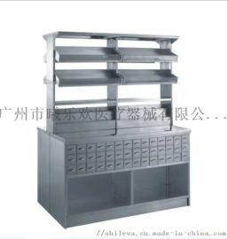 不锈钢中药柜, 药品柜 器械柜,双面药斗柜
