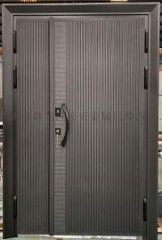 昆明铸铝门非标别墅大门氟碳烤漆防晒防爆铸铝门
