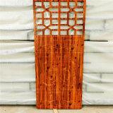 仿木紋鋁窗花古色古香情 仿古鋁花格古味古風韻