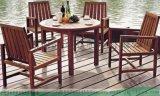 中式戶外實木桌椅,花園露臺桌椅,水泥仿木桌椅