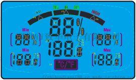 ZH-9604指针式电子温湿度计芯片方案