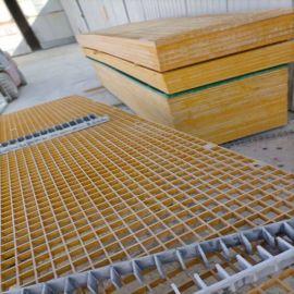 树篦子树池平台格栅板定制玻璃钢网格栅板