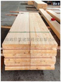 支持定做樟子松胶合木集成材