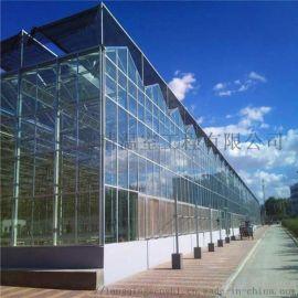 厂家直销玻璃温室大棚  大量批发供应玻璃温室价格