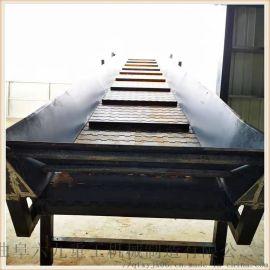 不锈钢链板输送机 板链式输送带 六九重工 链条链板
