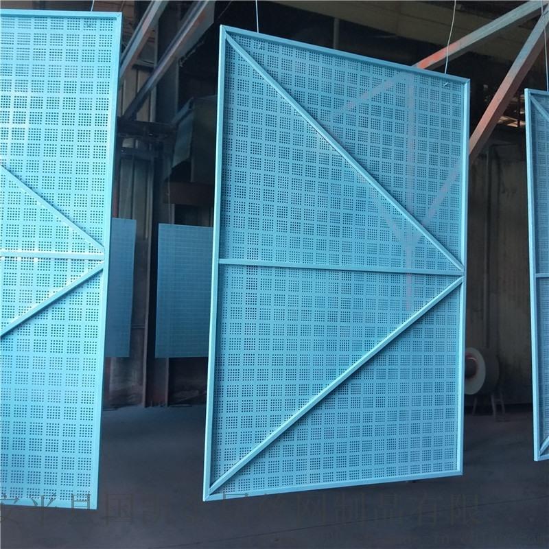 鄂州米字型冲孔爬架网片 高层建筑工地防坠防护网