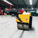 乡村道路手扶式双钢轮压实机多功能小型座驾式压路机