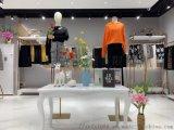 广州石井品牌女装小香风短裙折扣女装一字裙
