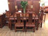 红木家具厂家直销福林堂红木家具餐桌