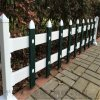公園草坪護欄現貨,pvc綠化圍欄規格,河北護欄廠家