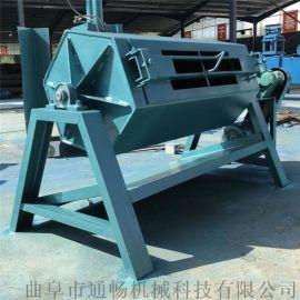 通畅铁件打磨除油锈设备 滚筒抛光机 石料倒角研磨机