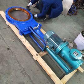 电液动刀型闸阀,不锈钢电液动刀闸阀 不锈钢阀门