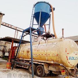 河北散运水泥粉倒库吸送机脉冲布袋除尘气力抽灰机
